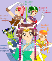The New Sailor Scouts by monsterhighlover3