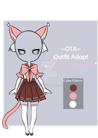 (closed)Offer to adopt - Kitty School outfit adopt by CherrysDesigns