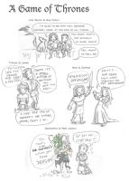 A Game of Thrones by blackbirdrose