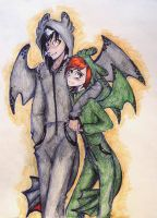 the dragons are here(OTP challenge d11) by UkeHicForEva