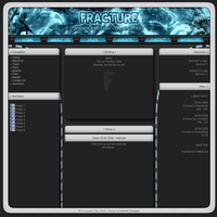 Fracture-Gaming Website by Kennieh