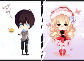Chibis =3= by Arisa01