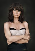 Robin Tunney by Siplick