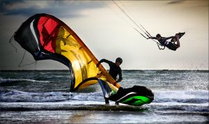 Kite Surf by plo0m
