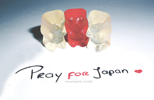 Pray for Japan by NANAKiryu
