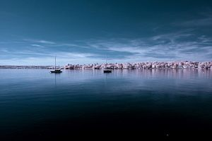 Infrared sea by Blubdi-Photography