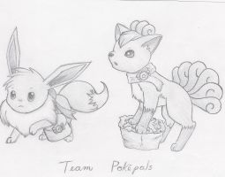 Team Pokepals by BlueDragon14201