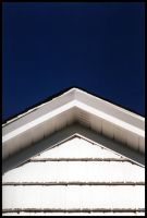 White House Eve and Blue Sky by sapphiretiger-stock