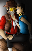 TF2 - Private Encounter by SoundlessOrchid