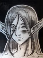 Charcoal Anime 01 by guardian-of-moon