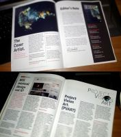 Designn Mag. 5th Edition Print by UJz