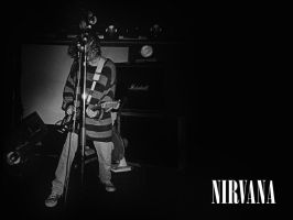 Nirvana Wallpaper by The-Golden-Brown