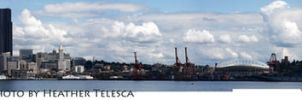 Seattle Panoramic by HeatherTelesca