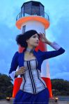 There's always a lighthouse... by AngelaBermudez