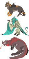 ProjChim: Chimera Forms Close-Up by Dream-Piper