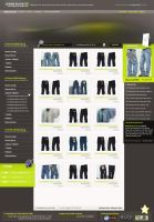 Clothing SHOP layout by termi1992