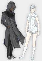 Cloak and Dagger -Color by keil