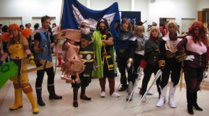 Skies of Arcadia cosplay group - Romics 2006 by Skull-the-Kid