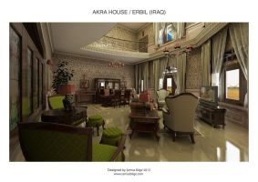 Akra House - Living Room 1 by Semsa