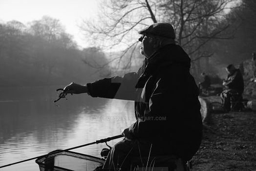 Old Fisherman by telboy322