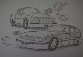 The Titanic and the Roadmaster. by Ricky47