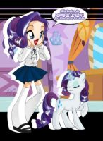 Rarity School by Shinta-Girl