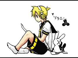 Kagamine Len by Abyss-Chaos