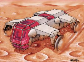 Mars Utility Vehicle 4 by Frohickey