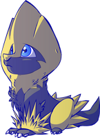 Bolt my Shiny Manectric! by Zaxlin