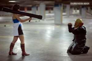 Nemesis bagging for mercy by Darkness-Man