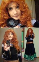 upcoming costume: Merida by Giuly-Chan