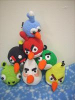 angry birds attack by handfree