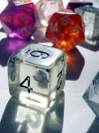 fantasy gaming dice 02 by barefootliam-stock