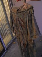 Silent hill 2 nurse dress (back) by Wingeddeath243