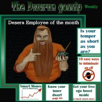 Desera Makes front Page by littlegoblet