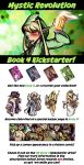 MR Book 4 Kickstarter Drive! by savagesparrow