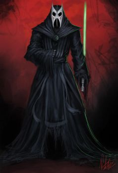 Darth Nihilus spin off by Peter-Ortiz