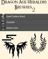 Dragon Age Heraldry Brushes- 2 by TruthDawnsinFire