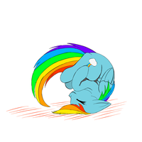 Rainbow Dash Roll by onlyAgam3r