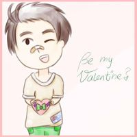 Be my Valentine? *APH-Australia* by MischievousRibbon