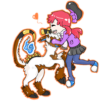 PC: Reina and Spoodles by Libearty
