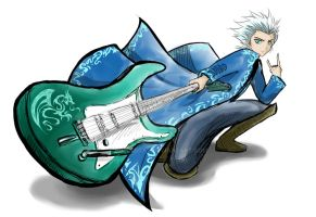 Toushiro Hitsugaya Contest by Bubblecat
