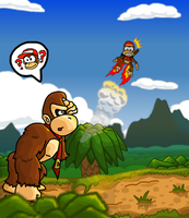 Donkey Kong Country Returns by SmashToons