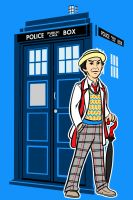 the seventh Doctor by AlanSchell
