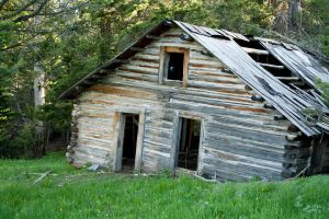 Ye old mining cabin by micro5797