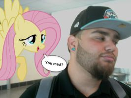 Fluttershy You Mad by Paris7500