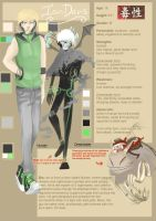 dokusei: Ian ref by Wing-shadow