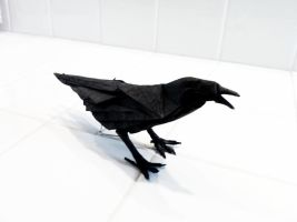 Origami Crow by Brian Chan by mechaprime-00