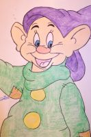 Dopey drawing by chloesmith8