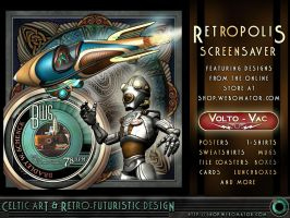 Retropolis Screen Saver Page by BWS